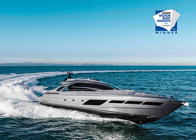 Pershing is a winner at the Motor Boat Awards 2021.